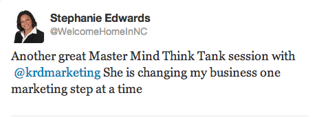 Stephanie Edwards Twitter Testimonial
